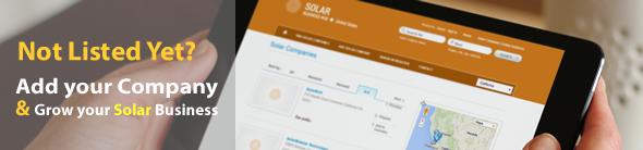 Add Solar Company Listing | Solar Business Directory | United States